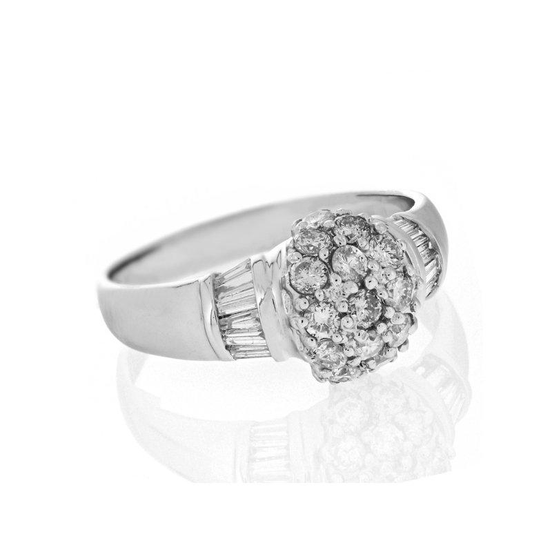 Estate Radcliffe Diamond Cluster Ring