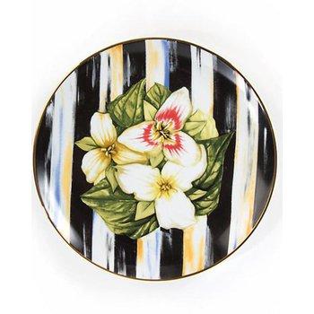 Thistle & Bee Salad Plate, Trillium