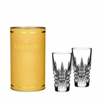 Giftology Lismore Diamond Shot Glass Pair
