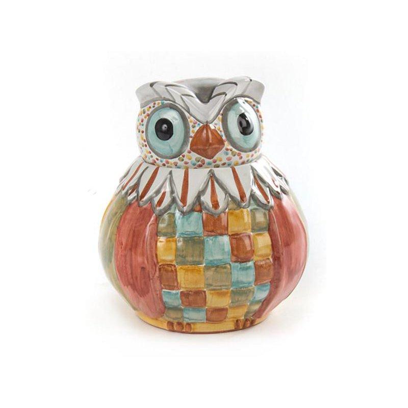 Mackenzie-Childs Owl Cookie Jar