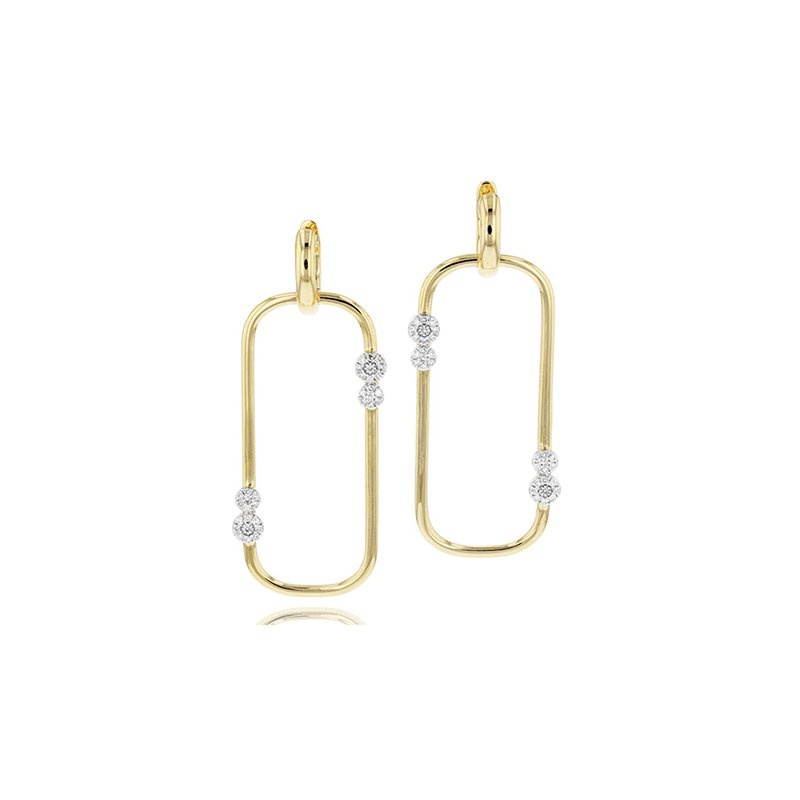 Phillips House Large Link Huggie Earrings