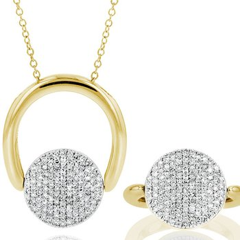 Infinity Revolution Ring/Necklace