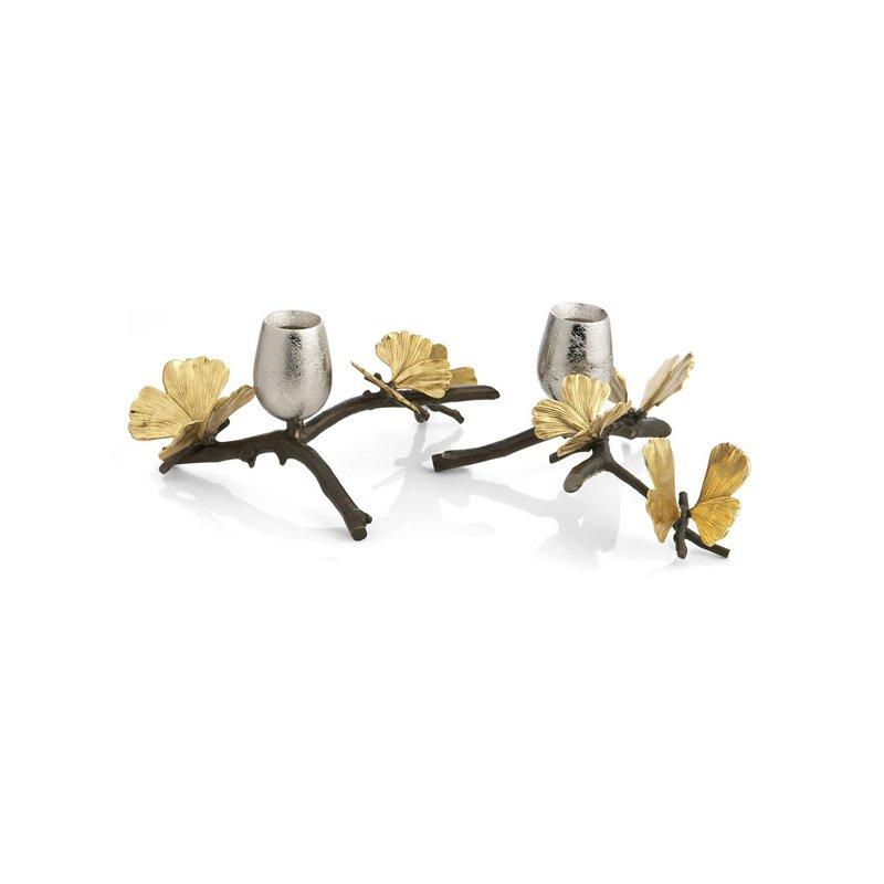 Michael Aram Butterfly Ginkgo Candleholders