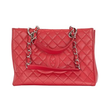 Red GST Caviar Bag