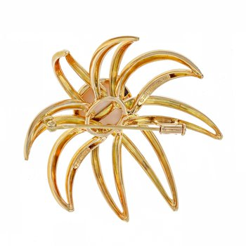 Fireworks Mabe Pearl Brooch