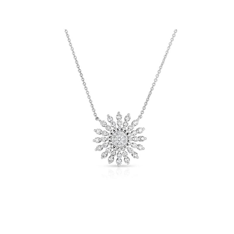 Roberto Coin Diamond Sunburst Pendant