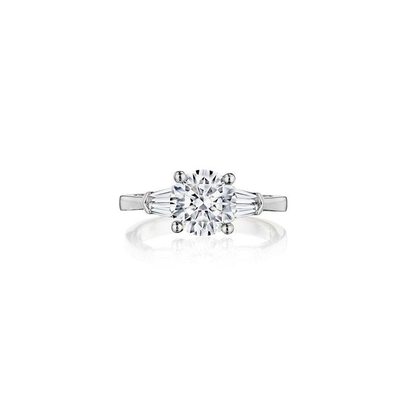 Henri Daussi Modern Style Engagement Ring Mounting