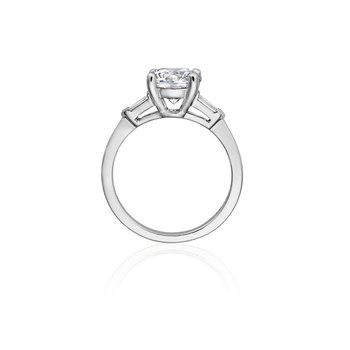 Modern Style Engagement Ring Mounting