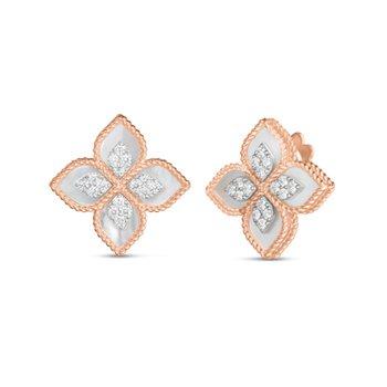 Princess Flower & Mother-of-Pearl Earrings