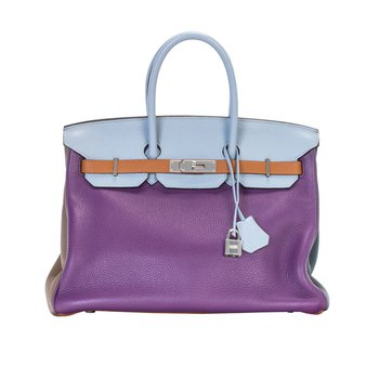 35cm Limited Edition Arlequin Birkin Bag