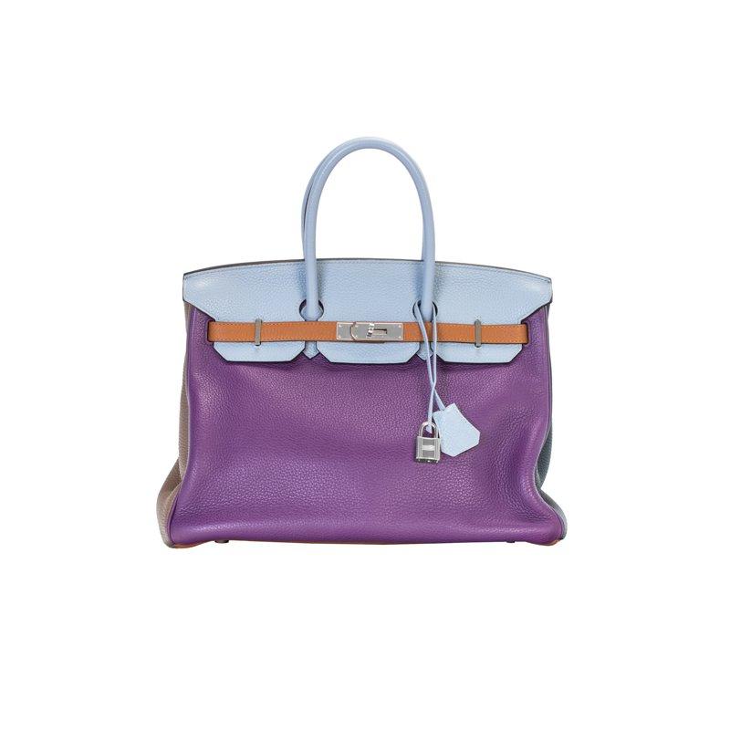 Hermes 35cm Limited Edition Arlequin Birkin Bag