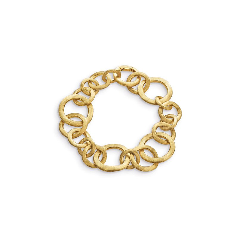 Marco Bicego Jaipur Collection 18K Yellow Gold Small Gauge Bracelet