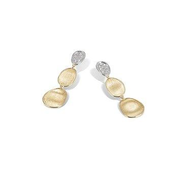 Lunaria Collection Diamond Petite Triple Drop Earrings