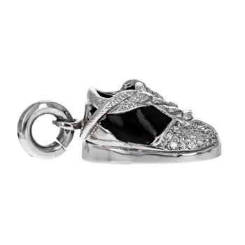 Enamel & Diamond Sneaker Charm
