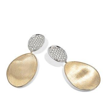 Lunaria Collection Medium Double Drop Earrings