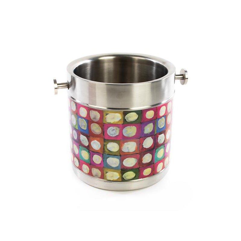 Mackenzie-Childs 3260 Ice Bucket-Unorthodot