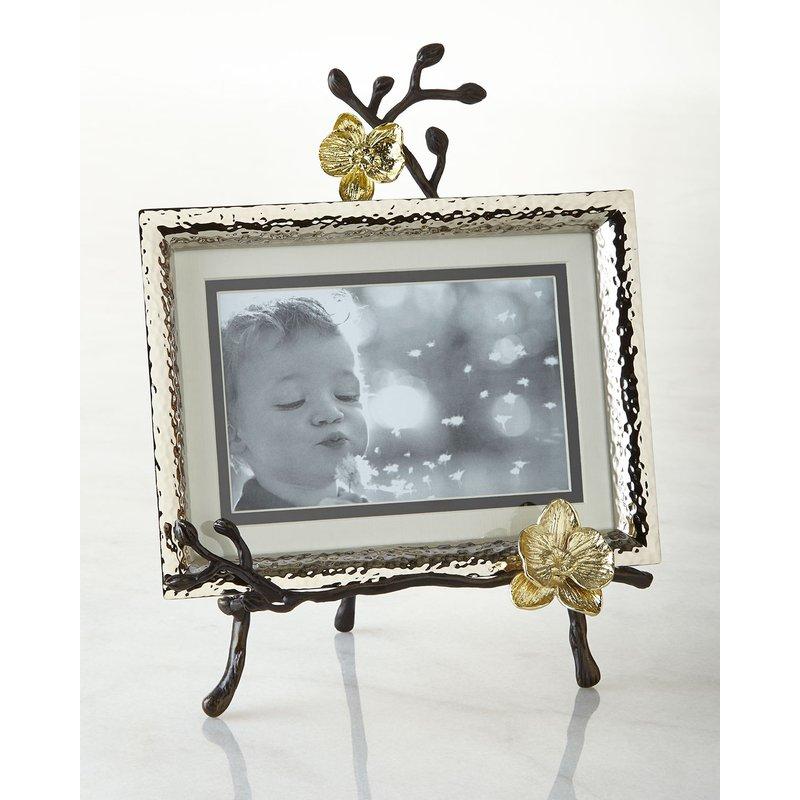 Michael Aram Gold Orchid Easel Frame