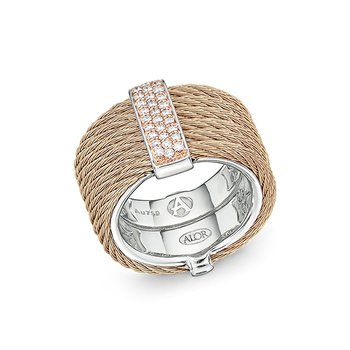 Carnation Cable Ring