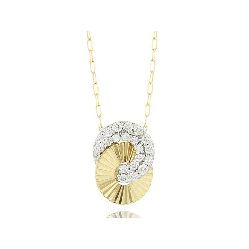 Phillips House Mini Interlocking Aura Necklace