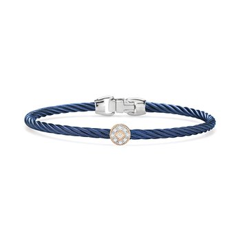 Blueberry Cable Essential Stackable Bracelet