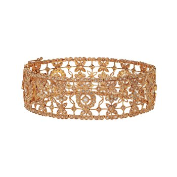 Diamond Filigree Bracelet