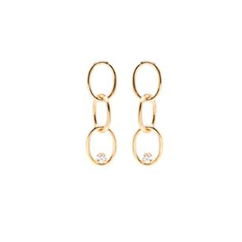 Zoe Chicco Chain Link Earrings