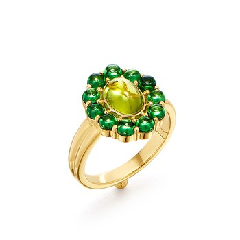 Color Theory Green Ring