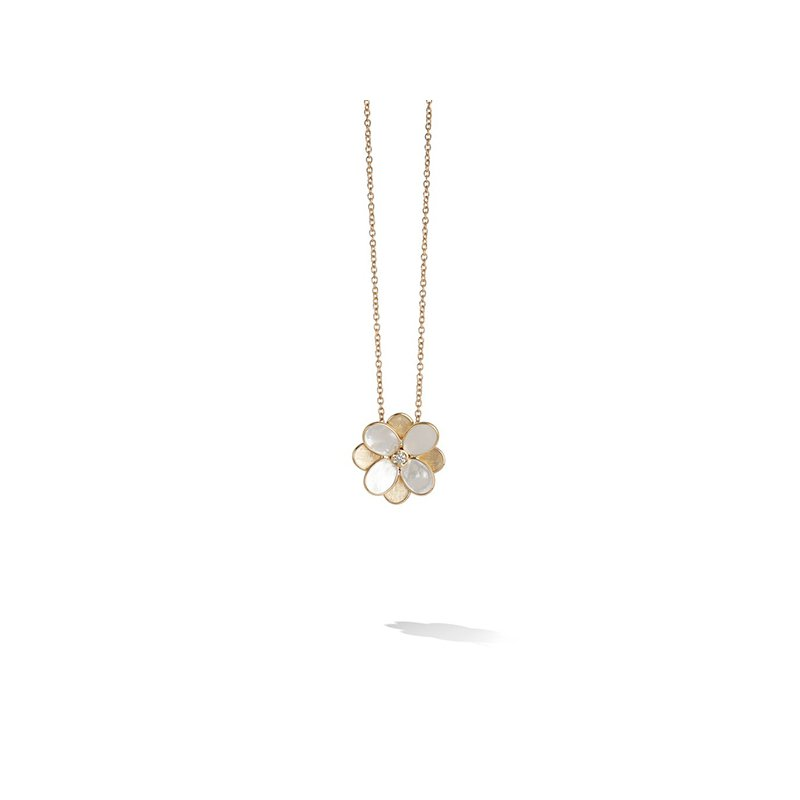 Marco Bicego Petali Collection Small Flower Pendant