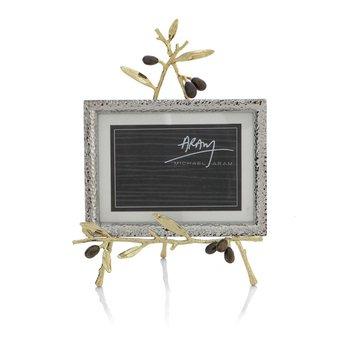 Olive Branch Gold Easel Frame