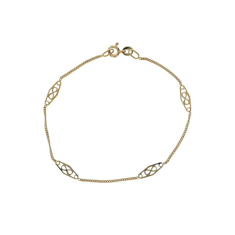 Estate Radcliffe 4 Station Chain Bracelet