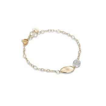 Lunaria Collection Petite Double Leaf Bracelet