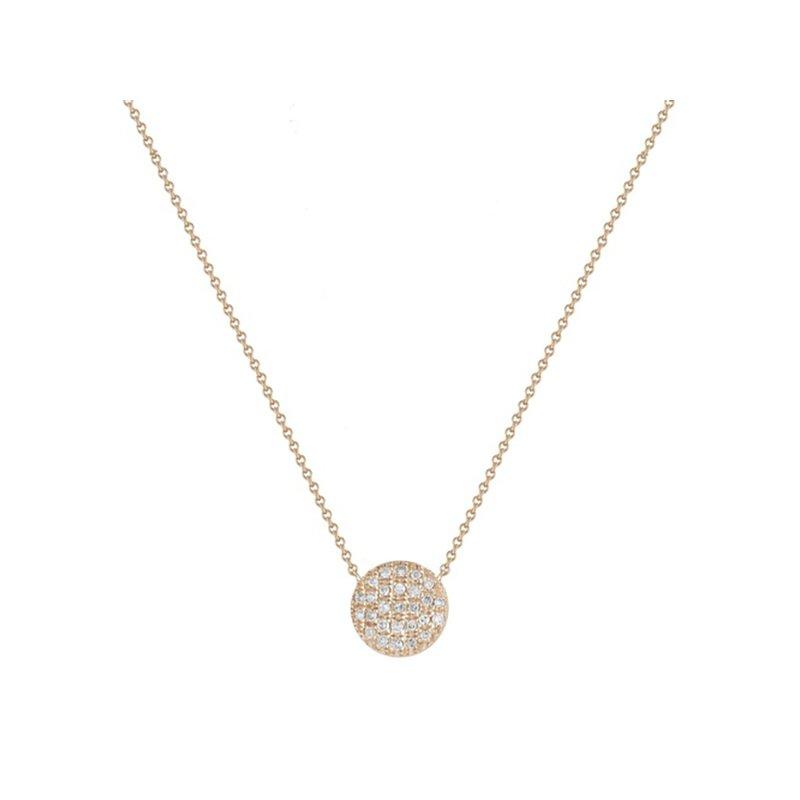 Dana Rebecca Designs Lauren Joy Medium Disc Necklace