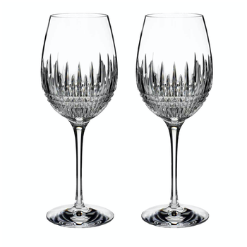Lismore Diamond Essence Goblet-Set of 2