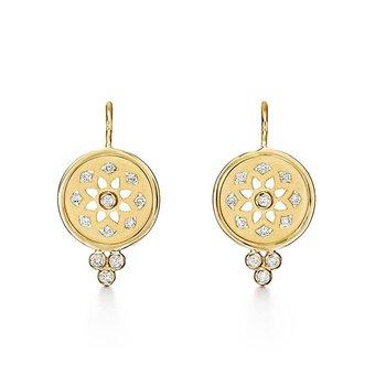 Mandala Cutout Earrings