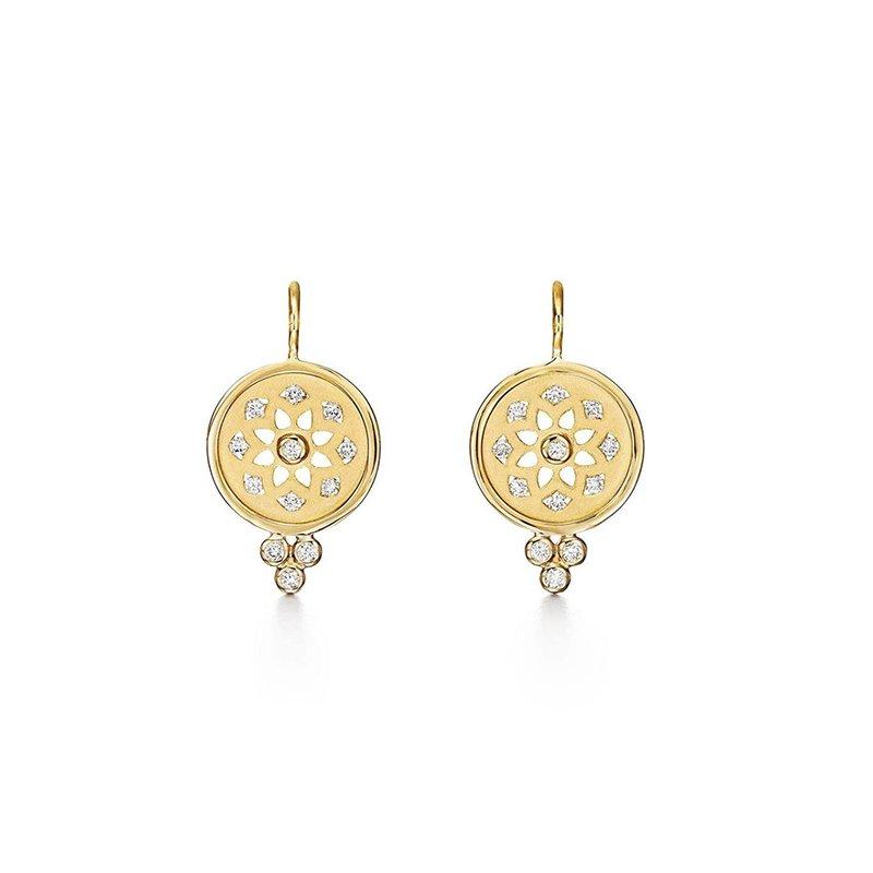 Temple St. Clair Mandala Cutout Earrings