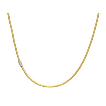 Necklace with Diamond Station