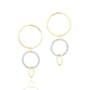 Interlocking Affair Loop Earrings