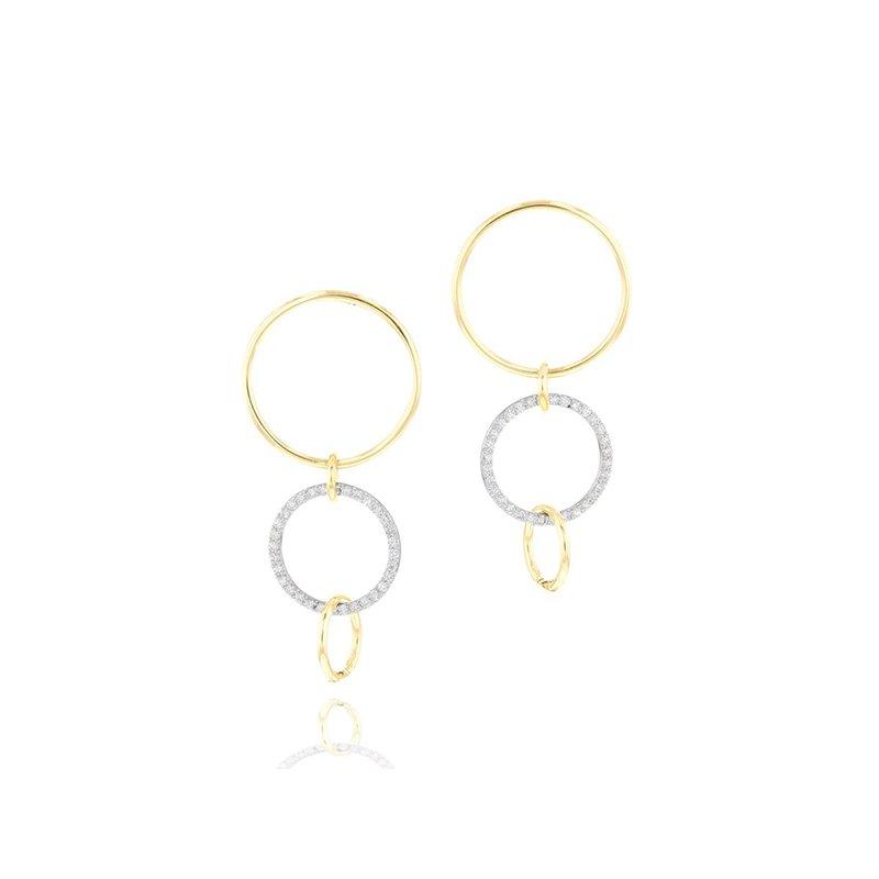 Phillips House Interlocking Affair Loop Earrings