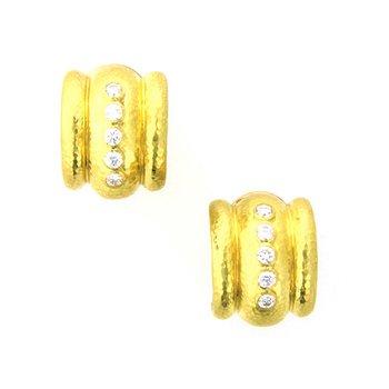 """Diamond """"Amalfi"""" Earrings"""