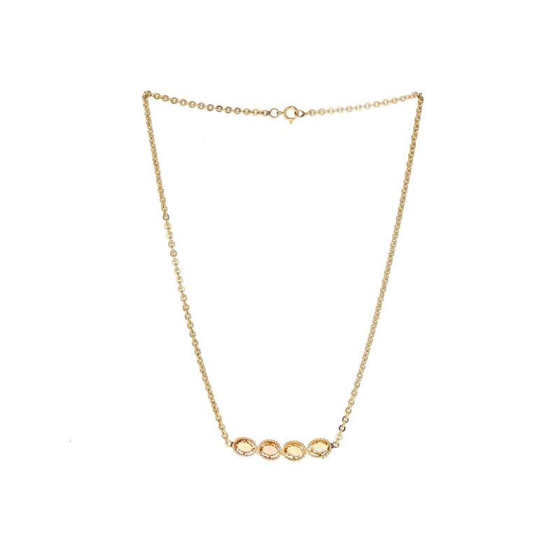 Estate Radcliffe Four Opal Necklace