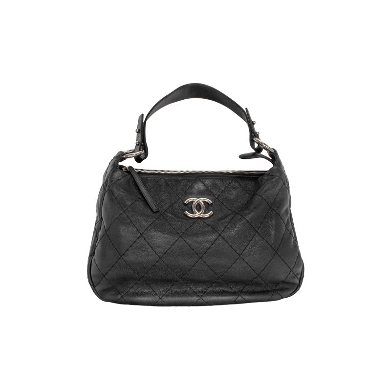 CHANEL Quilted Hobo Bag