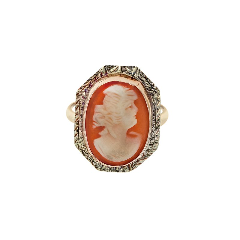 Estate Radcliffe Cameo Ring