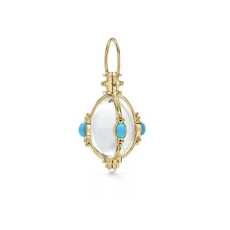 Temple St. Clair Turquoise Amulet