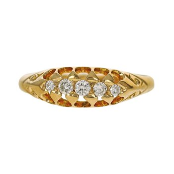 Victorian Inspired Diamond Ring