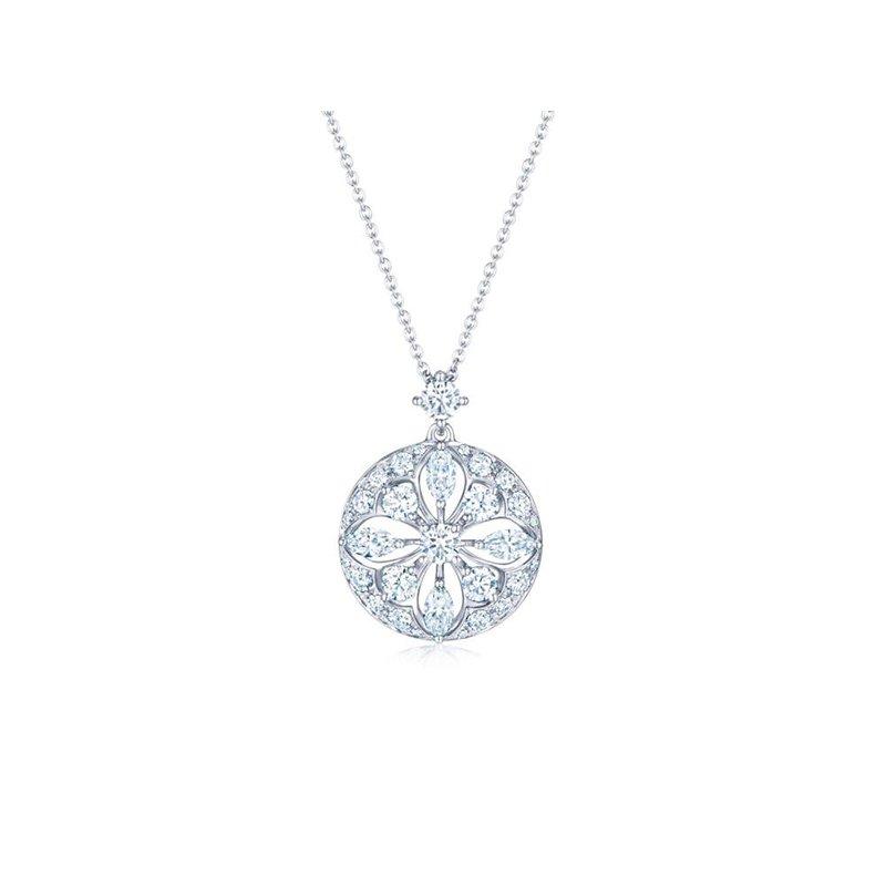 Kwiat Kwiat Star Frame Pendant with Diamonds