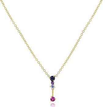 Dusk Enchanted Petite Drop Necklace