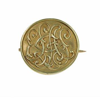 Circle Initial Pin