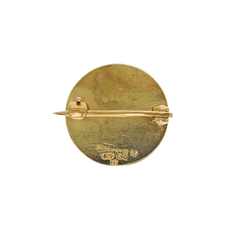 Estate Tiffany & Co. Circle Initial Pin