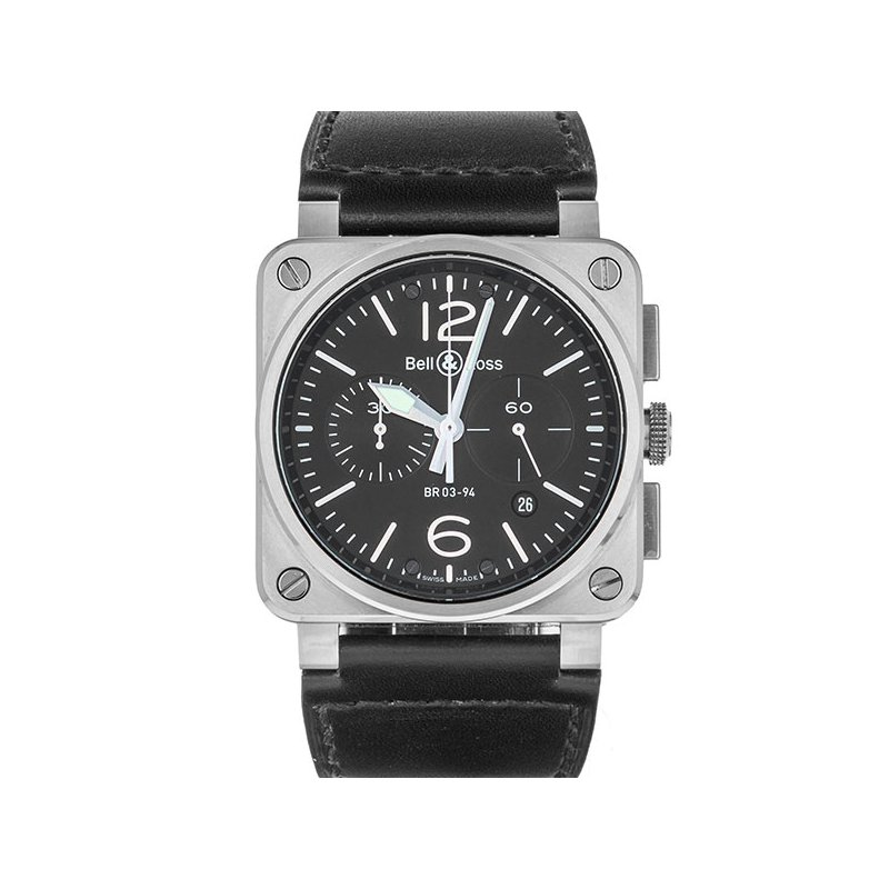 Pre-Owned Bell & Ross Aviation (Ref. BR03-94)