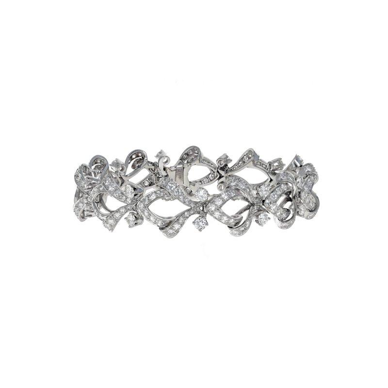 Estate Radcliffe 1960's Diamond Bracelet